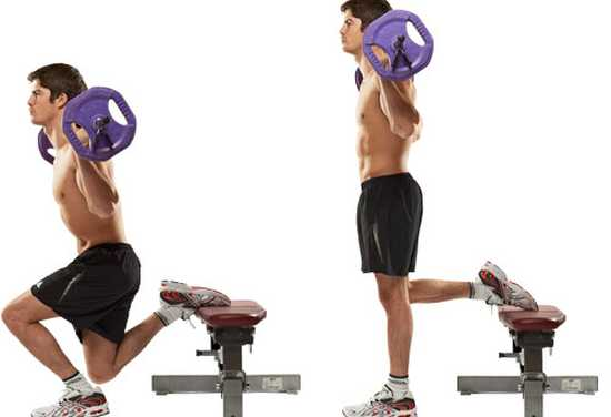 Bulgarian Split Squat 1