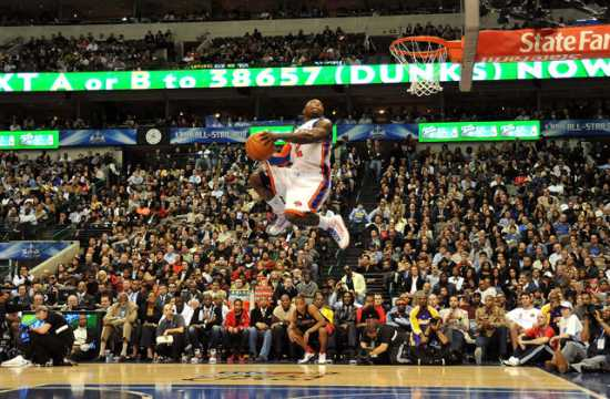 Nate Robinson vertical leap